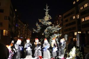 2016-12-04, Jonažolių kaimo bendruomenės Kalėdų eglės įžiebimas