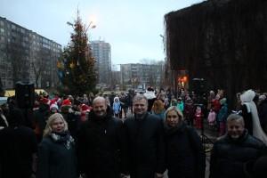 2016-12-08, Lazdynų Kalėdų eglutės įžiebimo šventė