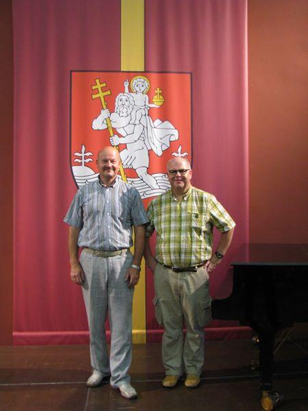 Susitikimas su JAV lietuviu G. T. Murausku